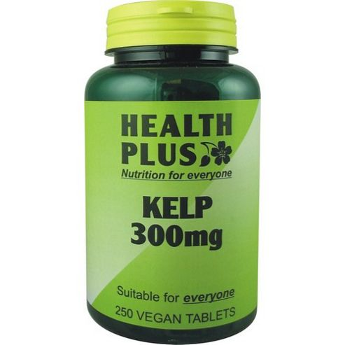 Health Plus Kelp 300mgVegan 250 Tablets