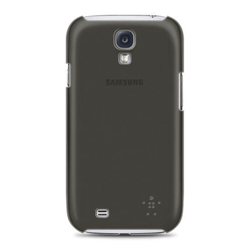 Belkin Shield Sheer Matte TPU case for Samsung S4 in Black