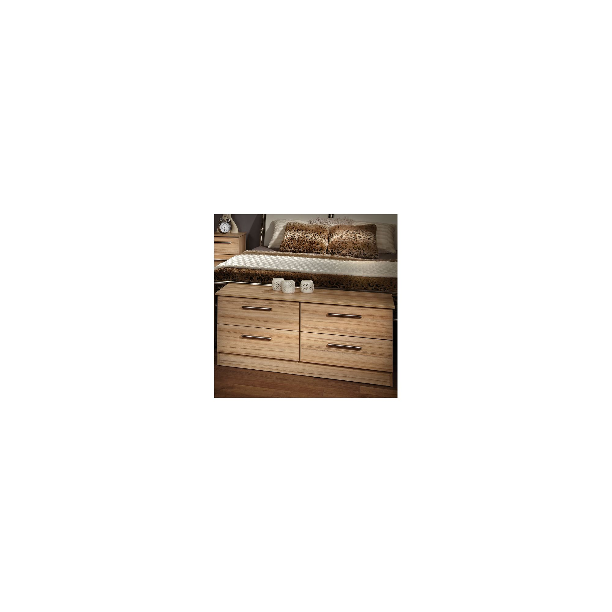 Welcome Furniture Contrast 4 Drawer Bed Box - Cocobola at Tesco Direct