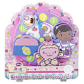 Disney Doc McStuffins Bathtime Clock & Puppet Set