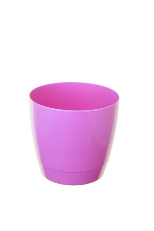 buy whitefurze indoor round 14cm lilac pot from our pots. Black Bedroom Furniture Sets. Home Design Ideas