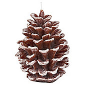 Large Fir Cone Candle