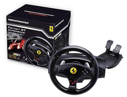 Thrustmaster Ferrari GT Experience Racing Wheel 3-in-1 (PC, PS3)