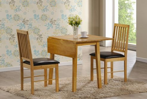 Home Zone Palma 3 Piece Dining Set