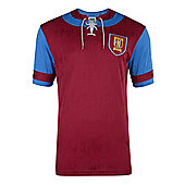 Aston Villa 1992 Home Shirt Claret L