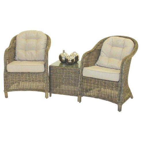Mazerattan Lounge Set 3pc