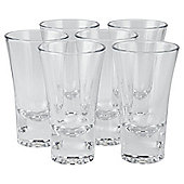 Tesco Standard Shot Glass, 6 Pack