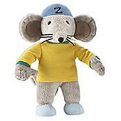 "Rastamouse 7"" Bead Filled Easy Crew Plush Zoomer"