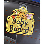 Winnie The Pooh Baby On Board Sign
