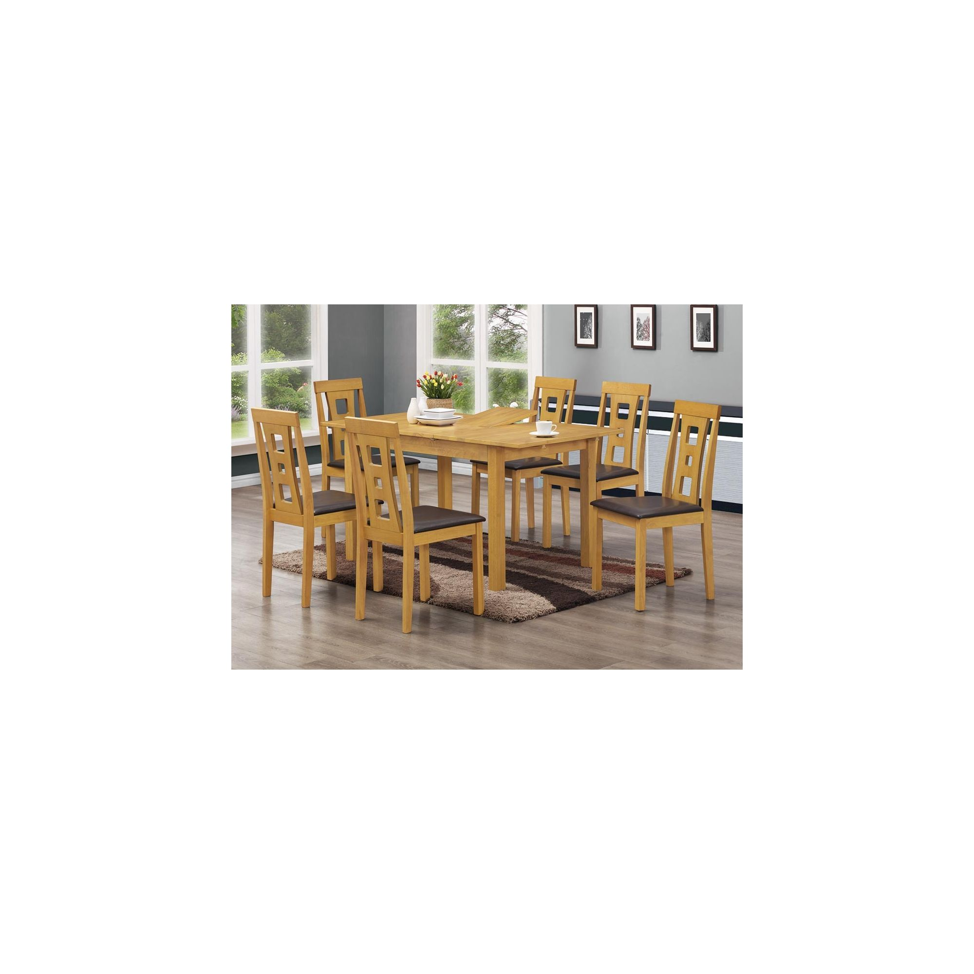 Home Essence Rowan Table and Chair Set at Tesco Direct