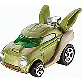 Star Wars Hot Wheels Yoda Die Cast Car