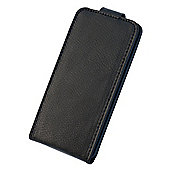 Tortoise™ Genuine Leather Flip Case iPhone 5 Black