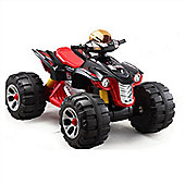 BIG Ride On Electric Raptor Quad Bike 12V Black
