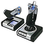 Saitek X52 Flight Control System (Joystick/Throttle)