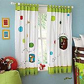 Izziwotnot Gruffalo Tab Top Curtains
