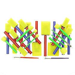 Sponge Brush Value - 25 Pack