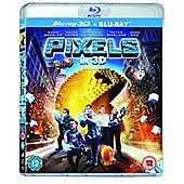 Pixels 3D Blu-ray