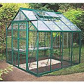 Rhino Premium Greenhouse 8x8 Bay Tree Green Finish