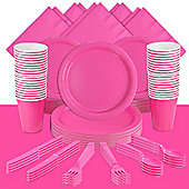 Hot Bright Pink Party Pack For 60
