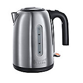 Russell Hobbs 20431 Lomond Kettle - 1.7 L - Brushed Stainless Steel