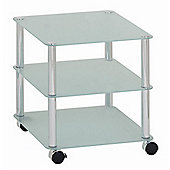 Urbane Designs France Trolley Side Table - Grey
