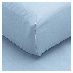Single Fitted Sheet - Breeze Blue