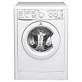 Indesit IWSC51051 Eco, Freestanding Washing Machine, 5Kg Wash Load, 1000 RPM Spin, A+ Energy Rating, White
