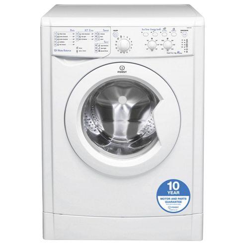 Indesit IWSC51051 Eco, Freestanding Washing Machine, 5Kg Wash Load, 1000 RPM Spin, A+ Energy Rating, White