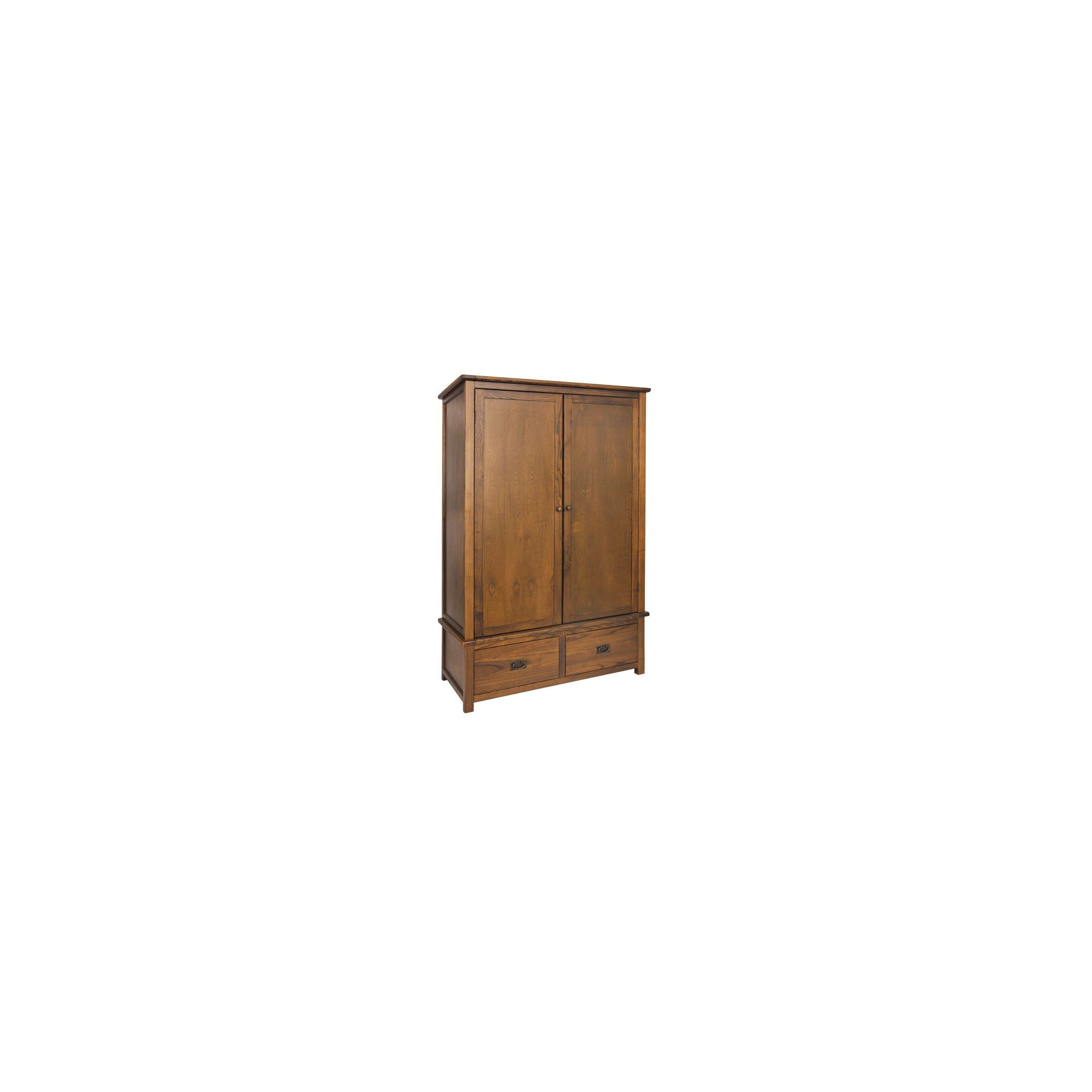 Home Essence Cambridge 2 Door 2 Drawer Wardrobe at Tesco Direct