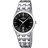 Candino Ladies Silver Stainless Steel Date Watch C4539/4