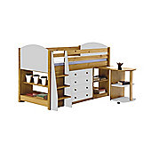 Verona Mid Sleeper Set 1 Antique With White Details
