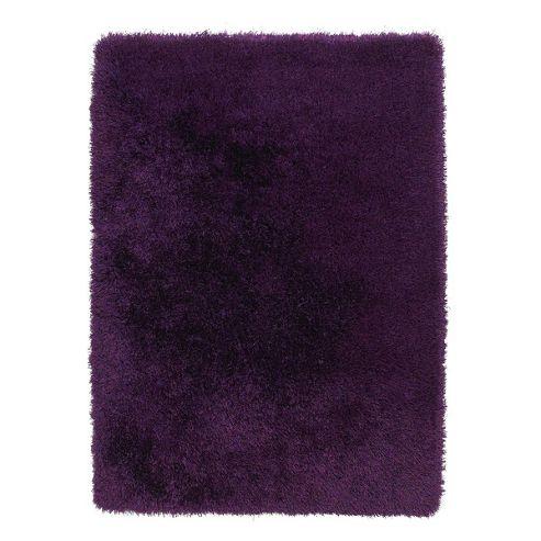Oriental Carpets & Rugs Monte Carlo Purple Rug - 60cm x 115cm