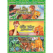 The Land Before Time 1-3 DVD