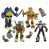 Teenage Mutant Ninja Turtles Mutation 4 Pack Tesco Exclusive