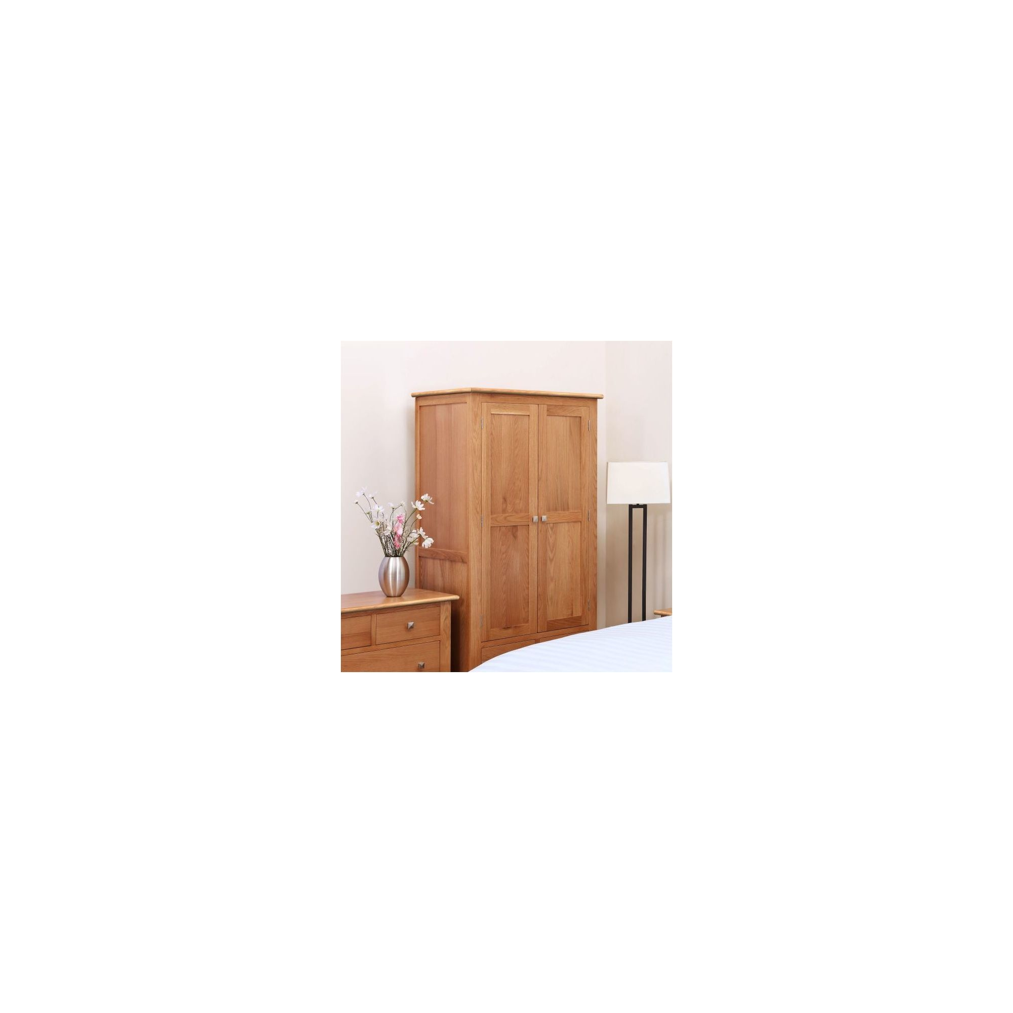 Kelburn Furniture Pitkin Oak Wardrobe at Tesco Direct