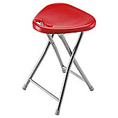 Alana Folding Stool Red