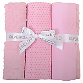 Silver Cloud Bedding Bale Pink