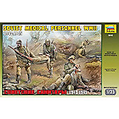 Zvezda - Soviet Medical Personnel WWII 1943-1945 - 1:35 Scale 3618
