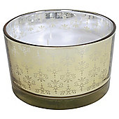 Baroque Multi Wick Candle, Gold