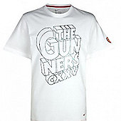 2011-12 Arsenal Nike Core Tee (White) - Kids - White
