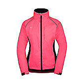 Adrenaline WomensRunning Cycling Sport Jpogging Iso-Viz Jacket Coat - Pink