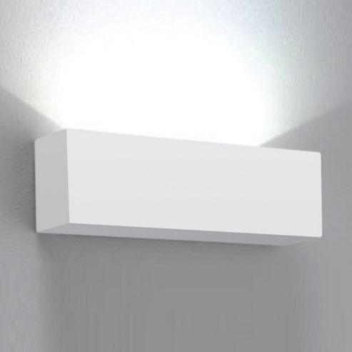 Square Ceramic Wall Lights : Buy Modern Square Ceramic Indoor Wall Light Fitting, White from our Single Wall Lights range - Tesco