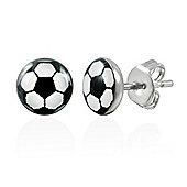 Urban Male Men's Football Stud Earrings Stainless Steel 7mm