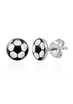 Urban Male Men's Football Stud Earrings Stainless Steel 7mm