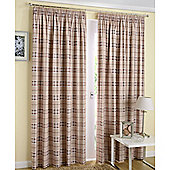 Enhanced Living Edinburgh Latte Curtains 229X183cm