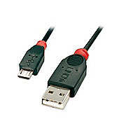 LINDY 31867 5m USB 2.0 Type A to Micro-B Cable