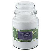Tesco Jar Candle, Meadow Flowers