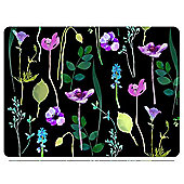 Pimpernel Water Garden Placemats, Black, Set of 6