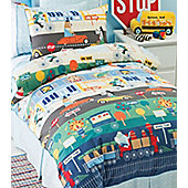 Out N About, Hiccups Double Duvet - 100% Cotton