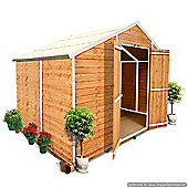 BillyOh 400 8 x 6 Windowless Overlap Apex Shed